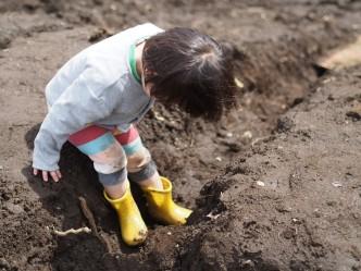 子どもたちがやりたいことをして過ごせるように、どうぞ汚れても大丈夫な恰好で遊びにきてくださいね。