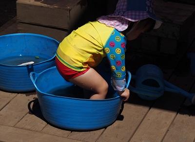 ちびっこ水遊び